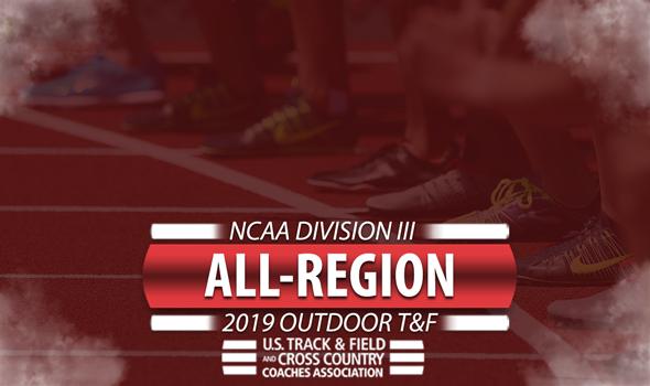 2019 NCAA DIII Outdoor Track & Field USTFCCCA All-Region