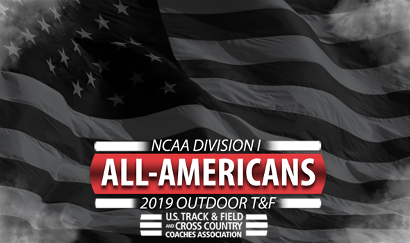 2019 NCAA DI Outdoor Track & Field All-America Honors
