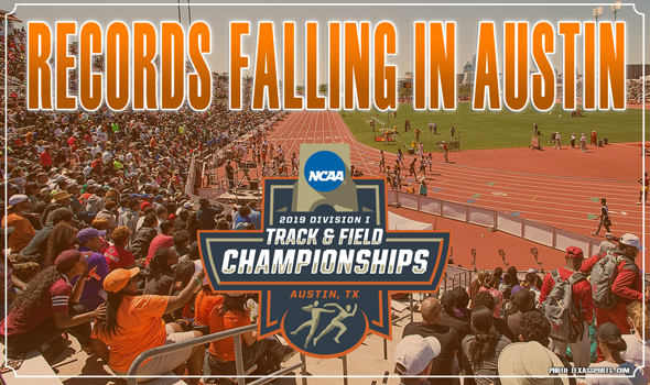 Records Falling In Austin At 2019 NCAA DI Championships